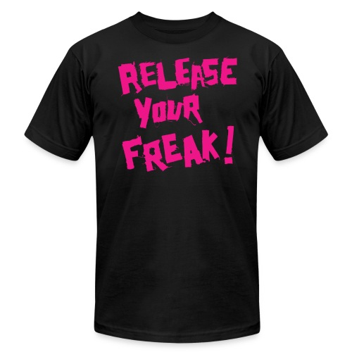 Release Your Freak! T-Shirt by Dedderz - Men's Fine Jersey T-Shirt