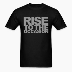 Rise to the Occasion Black and Silver