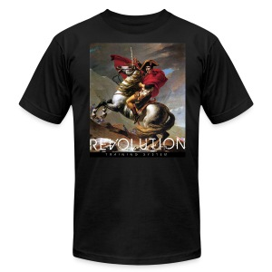 Napoleon on a Unicorn - Revolution Training - Men's T-Shirt by American Apparel