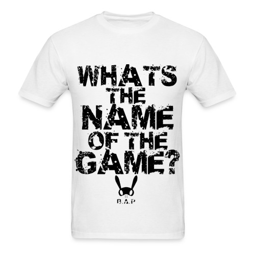 WHATS THE NAME - Men's T-Shirt