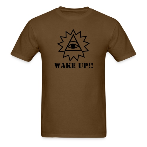 Wake up to truth! - Men's T-Shirt