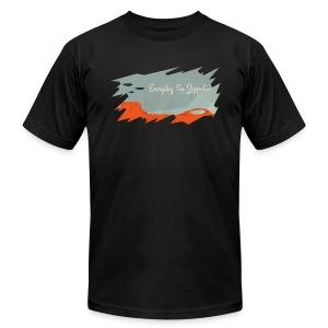 Everyday I'm Zeppelin t-shirt - Men's Fine Jersey T-Shirt