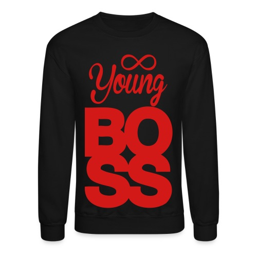Young Boss Sweatshirt - Crewneck Sweatshirt
