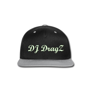 (GLOW IN THE DARK) Break dance DJ DragZ snapback - Snap-back Baseball Cap