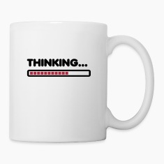 Thinking / Funny humor  Bottles & Mugs