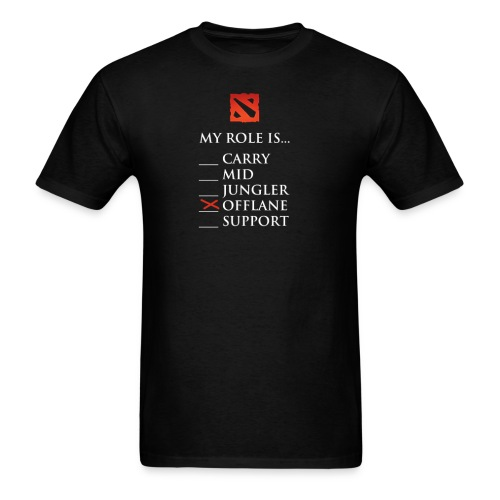 My Role is Offlane - Men's T-Shirt