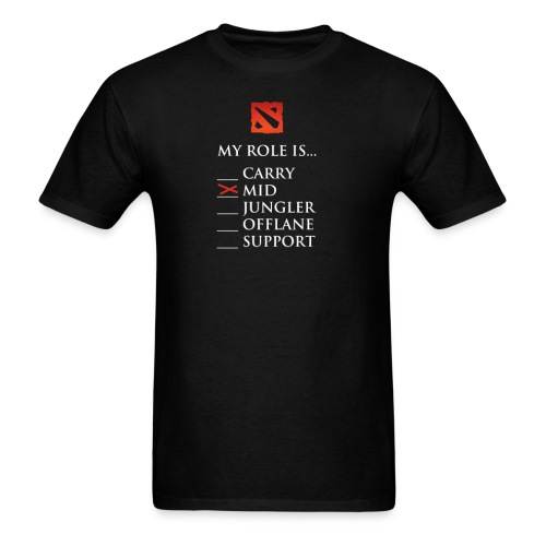 My Role is Mid - Men's T-Shirt