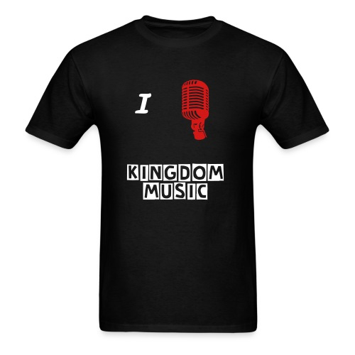 Kingdom music blk - Men's T-Shirt