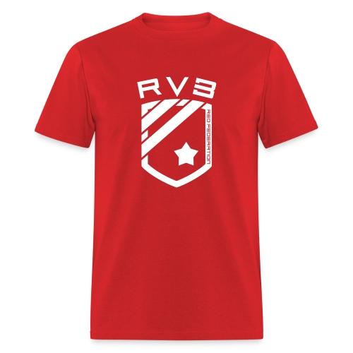 RVB Red - Chest - Men's T-Shirt