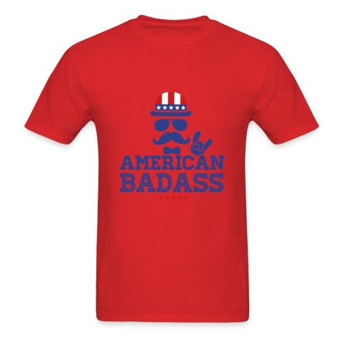 American Badass - Men's T-Shirt
