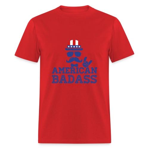 American Badass - Men's T-Shirt