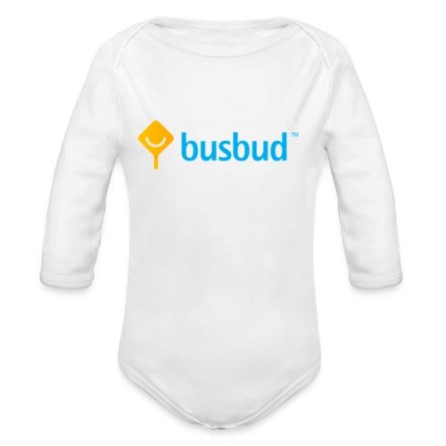 BusBudBaby_LongSleeveOnePiece - Organic Long Sleeve Baby Bodysuit