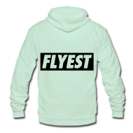 Zip Hoodies & Jackets ~ Unisex Fleece Zip Hoodie by American Apparel ~ Flyest Zip Hoodies/Jackets