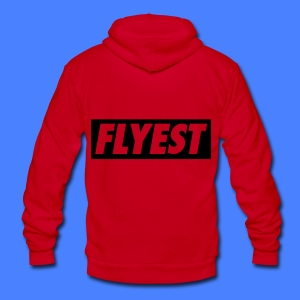 Flyest Zip Hoodies/Jackets - Unisex Fleece Zip Hoodie by American Apparel