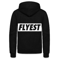 Zip Hoodies & Jackets ~ Unisex Fleece Zip Hoodie by American Apparel ~ Flyest Zip Hoodies/Jackets