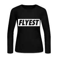 Long Sleeve Shirts ~ Women's Long Sleeve Jersey T-Shirt ~ Flyest Long Sleeve Shirts