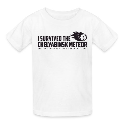 I Survived The Chelyabinsk Meteor Kid's T-Shirt - Kids' T-Shirt