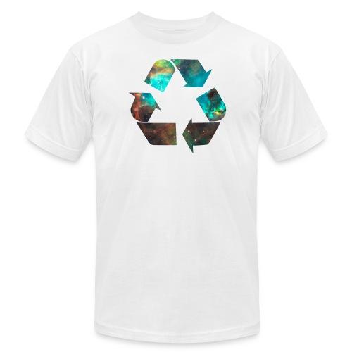 Recycle Stardust Nebula - Men's Fine Jersey T-Shirt