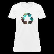Women's T-Shirts ~ Women's T-Shirt ~ Recycle Stardust Nebula