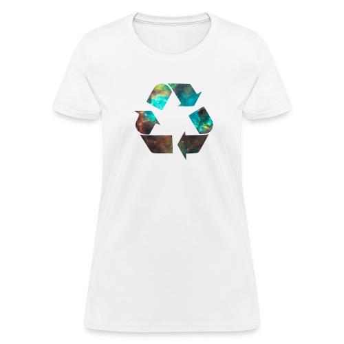 Recycle Stardust Nebula - Women's T-Shirt