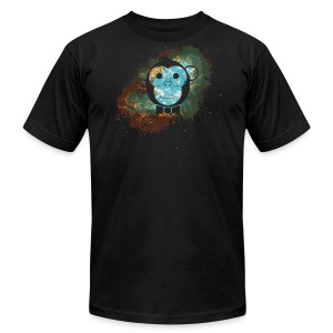 Smart Apparel Nebula logo - Men's T-Shirt by American Apparel