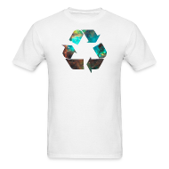 T-Shirts ~ Men's T-Shirt ~ Recycle Stardust Nebula
