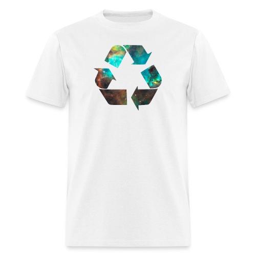 Recycle Stardust Nebula - Men's T-Shirt