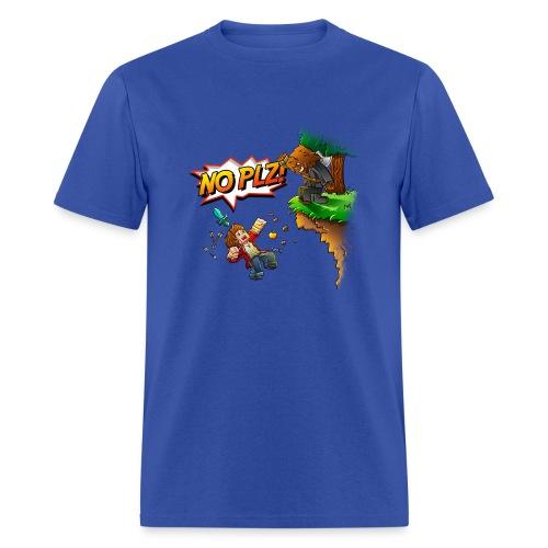 No Plz T-Shirt (M) - Men's T-Shirt