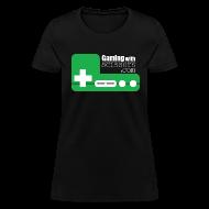 Women's T-Shirts ~ Women's T-Shirt ~ Green Controller Women's