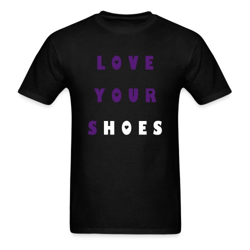 Grape 5s Love your Shoes - Men's T-Shirt