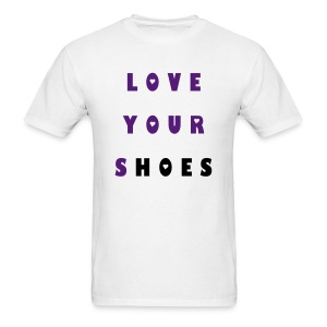 Grape 5s Love your Shoes 2 - Men's T-Shirt