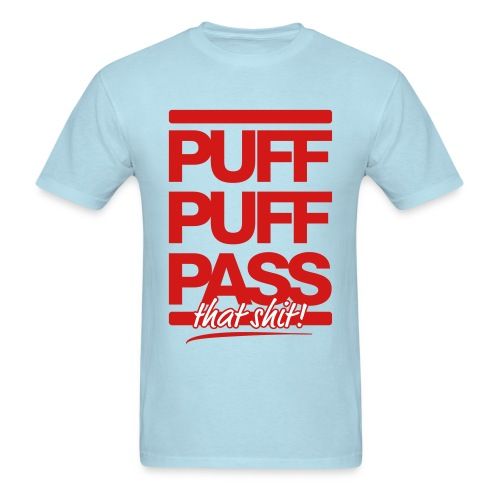Puff Puff Pass Mens T-shirt - Men's T-Shirt