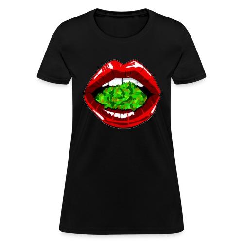 Weed Lips Women's T-shirt - Women's T-Shirt