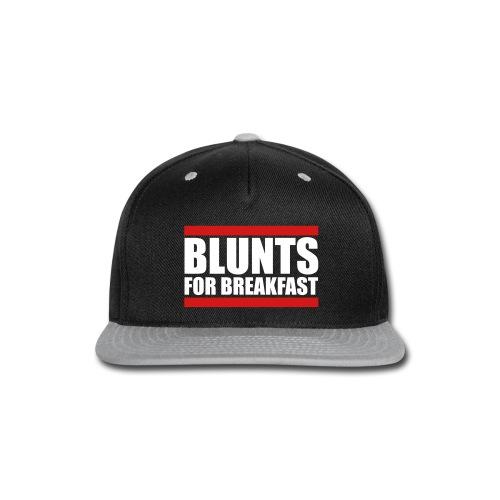 Blunts for Breakfast Snapback Hat - Snap-back Baseball Cap