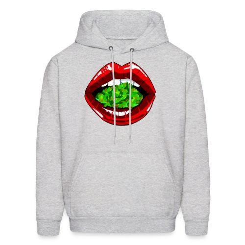 Weed Lips Men's Sweatshirt  - Men's Hoodie