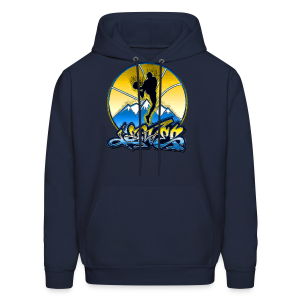 Denver - Blue and Yellow - Hoodie - Men's Hoodie
