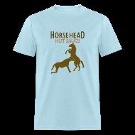 T-Shirts ~ Men's T-Shirt ~ Horsehead Hot Sauce (Blue)