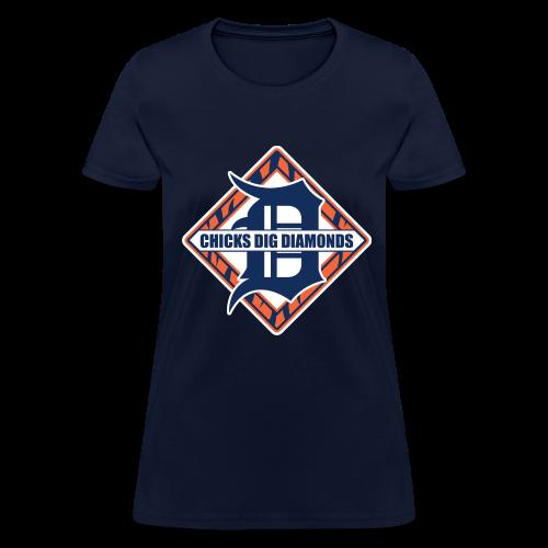 Chicks Dig Diamonds - Women's T-Shirt