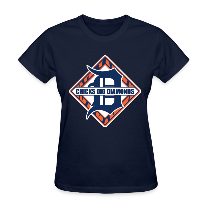 Chicks Dig Diamonds - Women's T-Shirt
