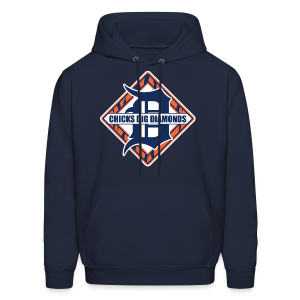 Chicks Dig Diamonds - Men's Hoodie