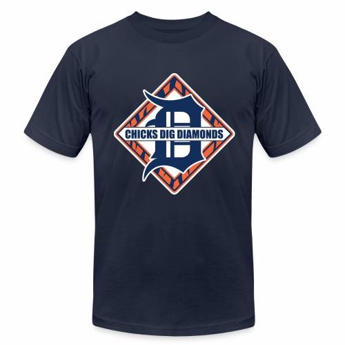 Chicks Dig Diamonds - Men's Jersey T-Shirt