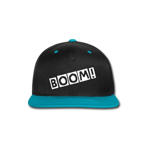 Boom Snap-back Hat - Snap-back Baseball Cap