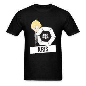 EXO - Chibi Kris (For Dark Shirts) [Men's Shirt] - Men's T-Shirt