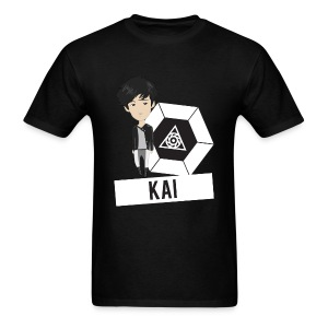 EXO - Chibi Kai (For Dark Shirts) [Men's Shirt] - Men's T-Shirt