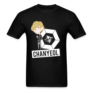 EXO - Chibi Chanyeol (For Dark Shirts) [Men's Shirt] - Men's T-Shirt