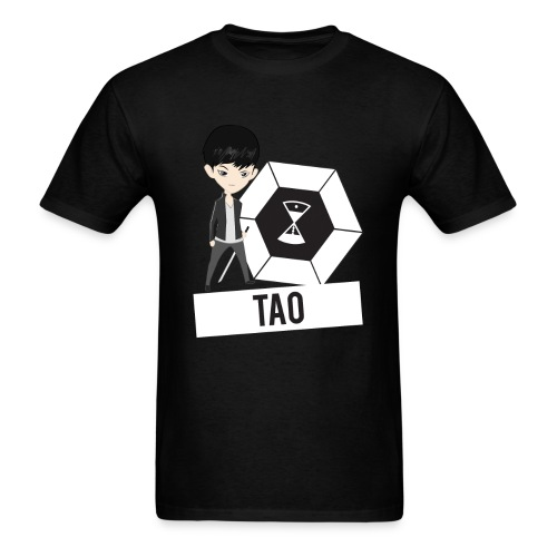 EXO - Chibi Tao (For Dark Shirts) [Men's Shirt] - Men's T-Shirt