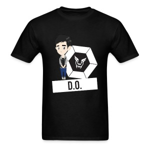 EXO - Chibi D.O. (For Dark Shirts) [Men's Shirt] - Men's T-Shirt