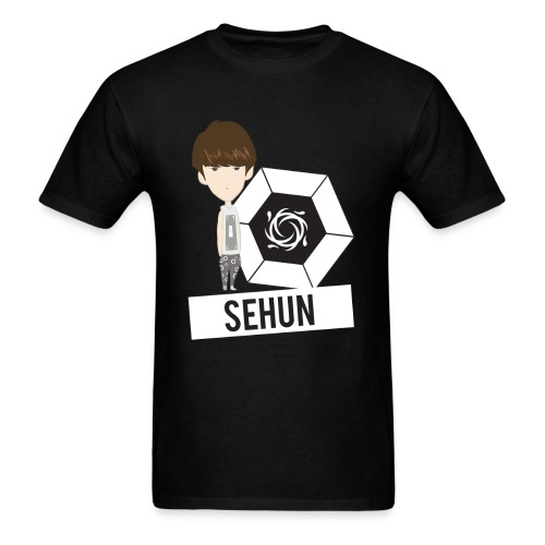 EXO - Chibi Sehun (For Dark Shirts) [Men's Shirt] - Men's T-Shirt