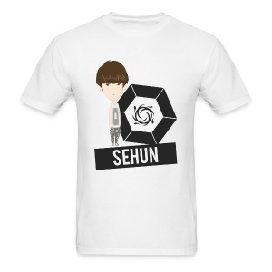 EXO - Chibi Sehun (For Light Shirts) [Men's Shirt] - Men's T-Shirt