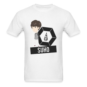 EXO - Chibi Suho (For Light Shirts) [Men's Shirt] - Men's T-Shirt